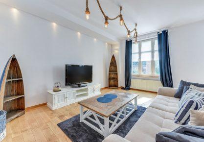 Apartament marynarski w sercu Dolnego Sopotu