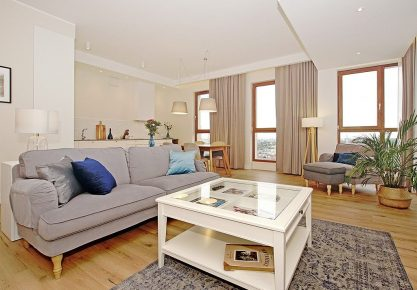 COMFORTABLE APARTMENT WITH A VIEW OF GDAŃSK PANORAMA